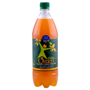 OSTLERS CLOUDY APPLE CIDER VINEGAR (1 x 1 Litre)