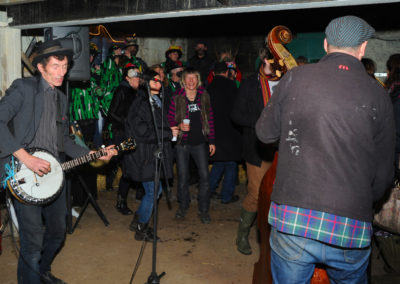 Ostlers Award Winning Organic Apple Vinegar Cider ACV with the Mother Wassail Mill Band