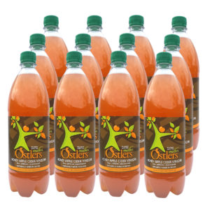 OSTLERS HONEY APPLE CIDER VINEGAR (12 x 1 Litre)